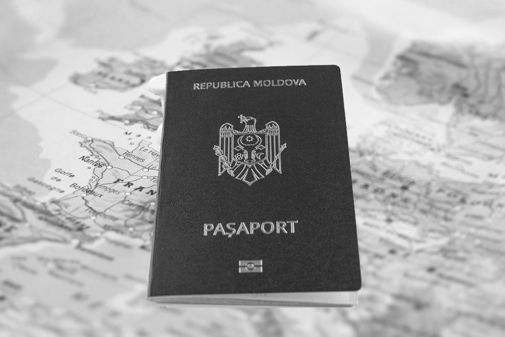 Moldova passport